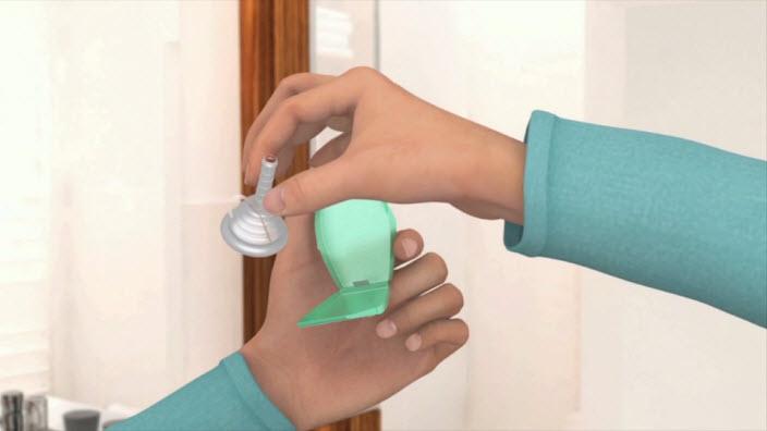 Se hur du använder en urindroppsamlare - video