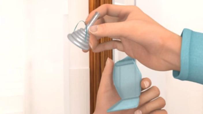 Hur du sätter på en urindroppsamlare