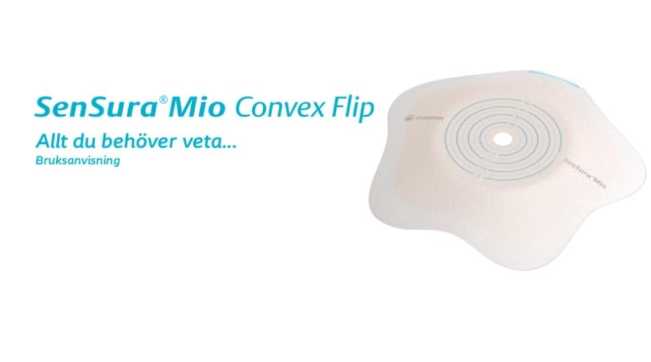 SenSura Mio Convex Flip - 2-dels basplatta