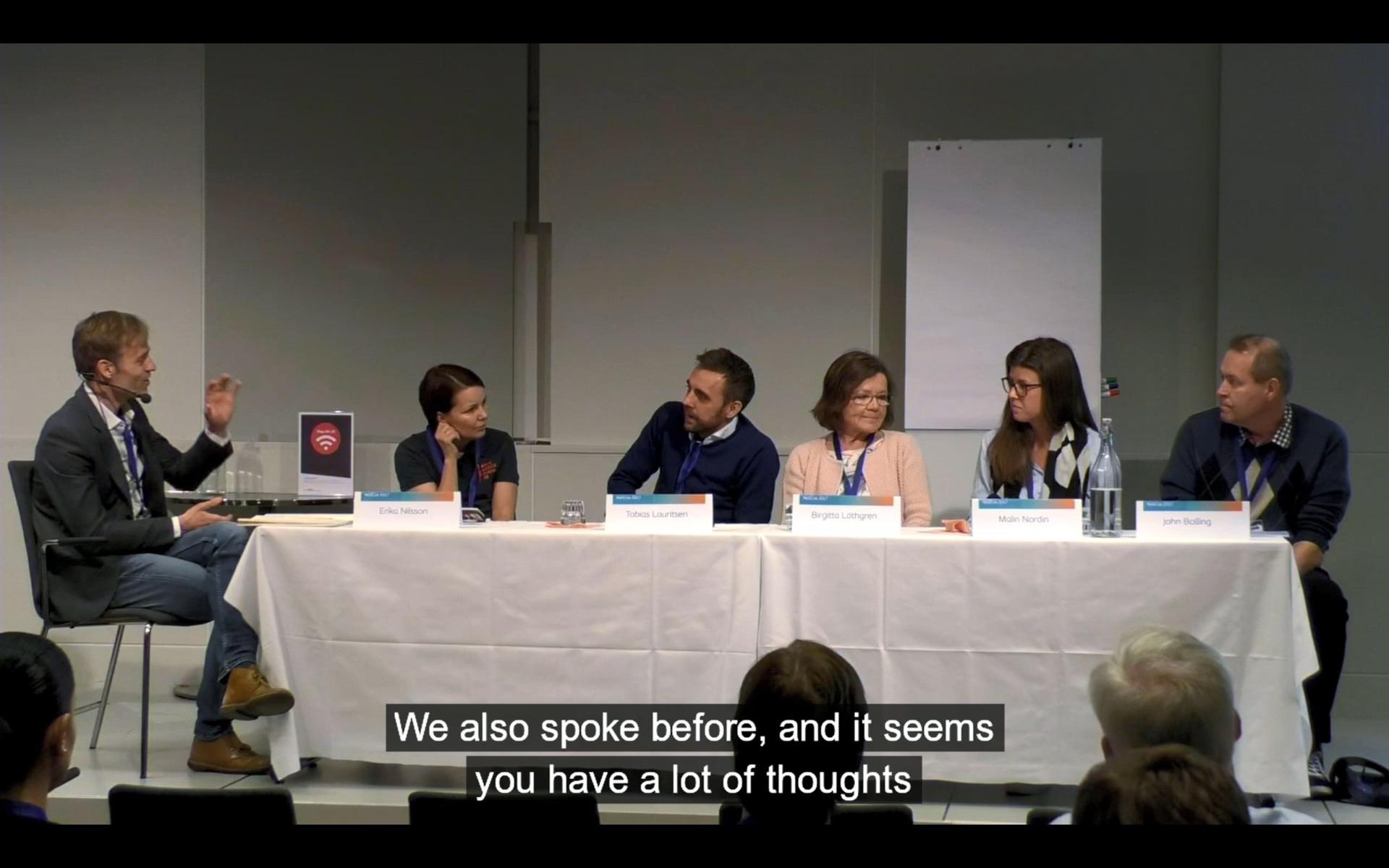 Debattpanel