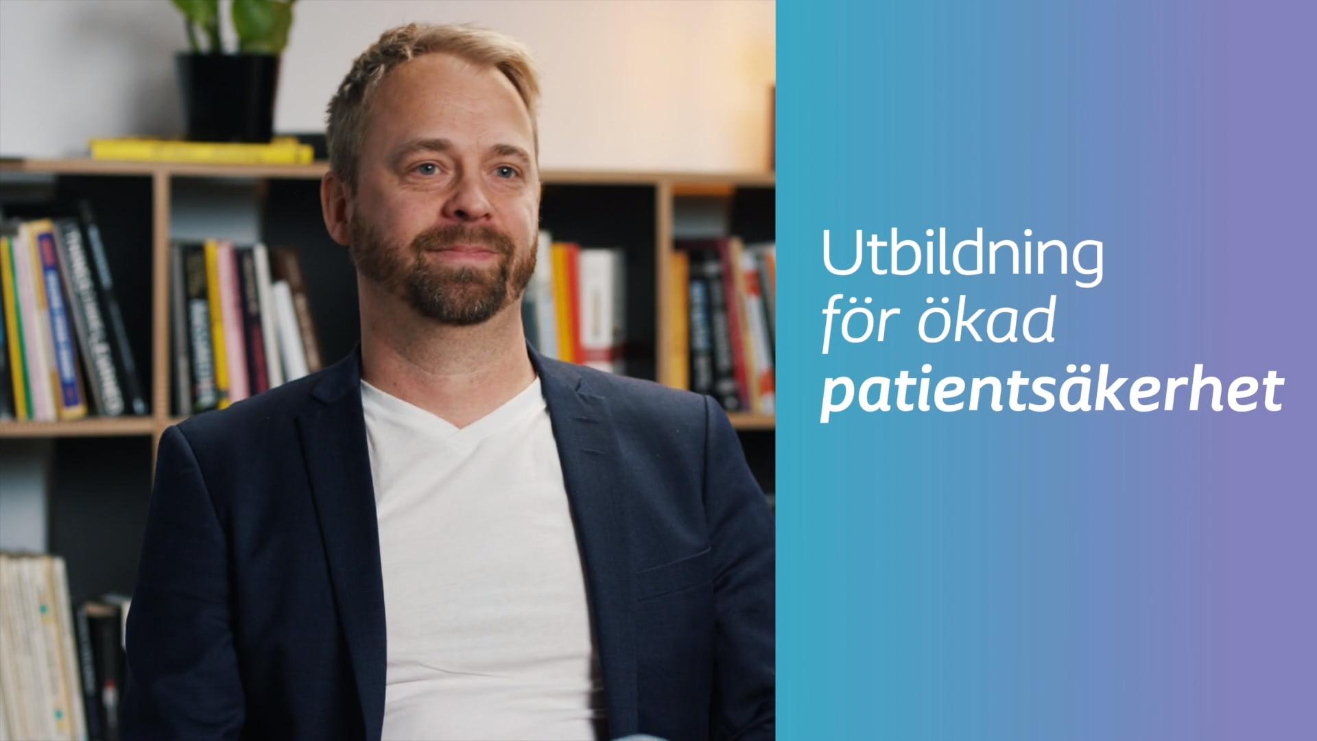 Niklas Lovefall - Utbildningsansvarig på Coloplast AB