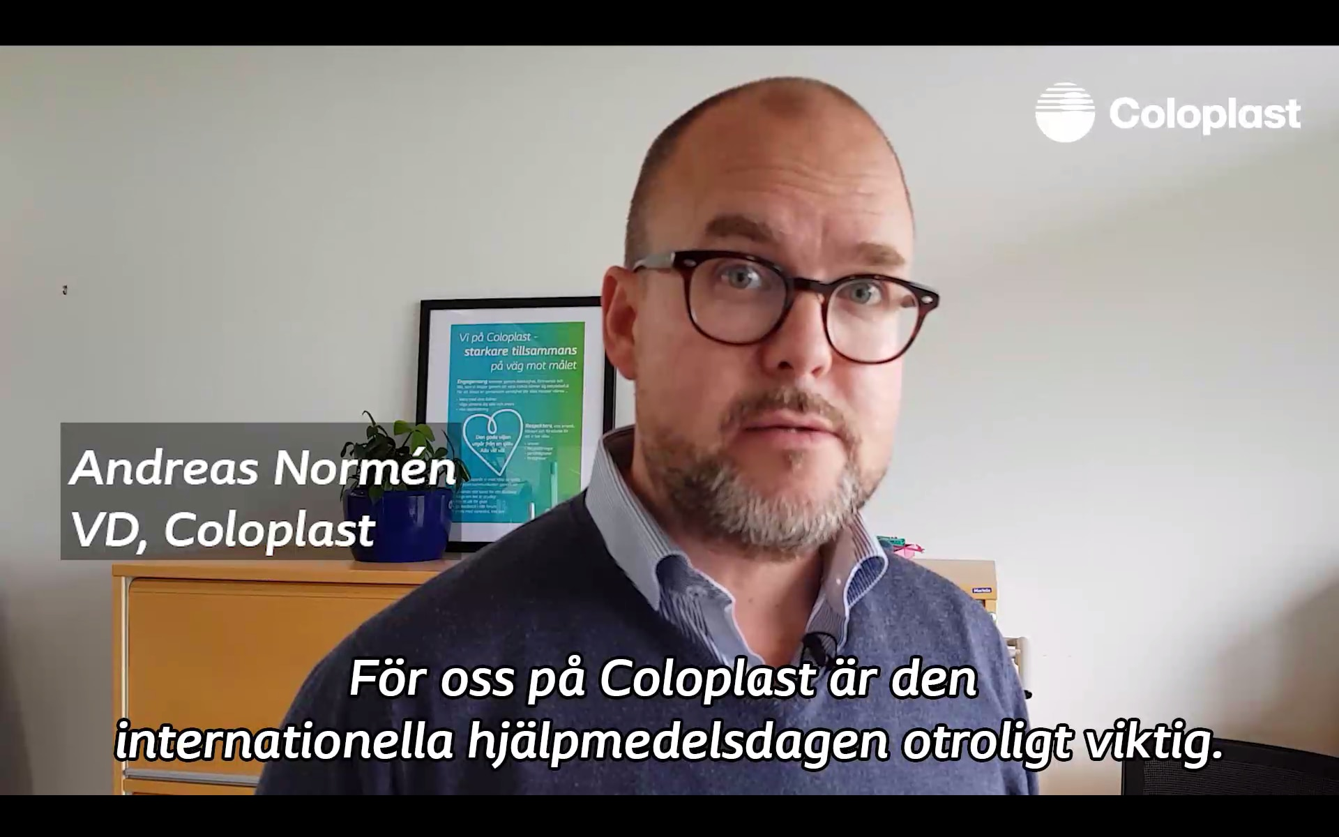Andreas Normén, VD Coloplast AB